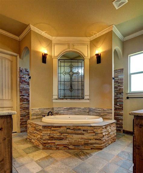 bailee custom homes rustic bathroom dallas