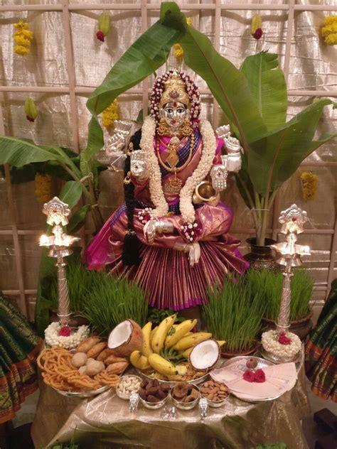 varamahalakshmi goddess decor decor mandir decoration