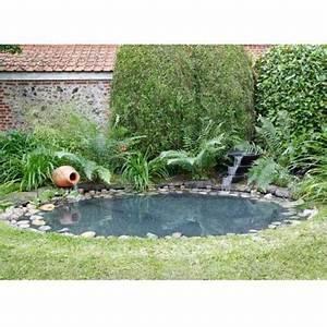 Jardin Avec Bassin : d couvrez le kit bassin ubbink en b che avec amphore et cascade ~ Melissatoandfro.com Idées de Décoration