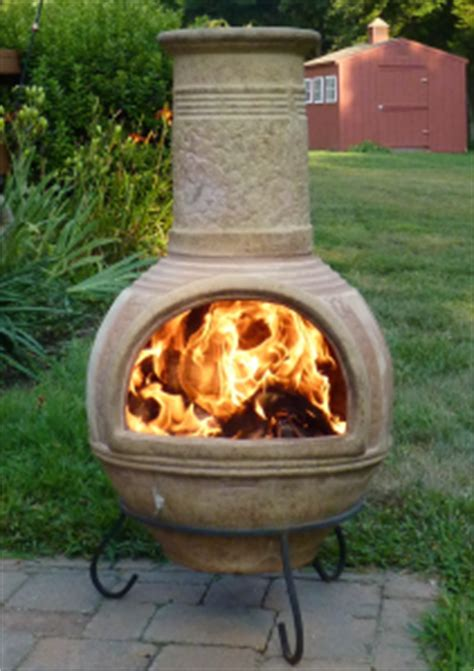 Cheapest Chiminea by Open Burning Cfires Bonfires Pits