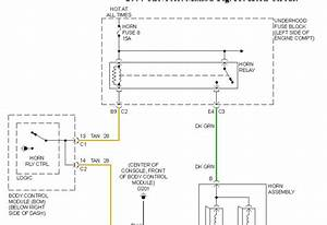 How To Replace Horn And Gasgauge Relay