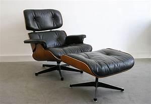 Fauteuil Charles Eames Original : lounge chair eames miller vitra lausanne suisse ~ Nature-et-papiers.com Idées de Décoration