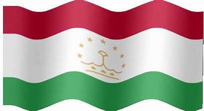 Flag Tajikistan Animated Very Flying Waving Flags