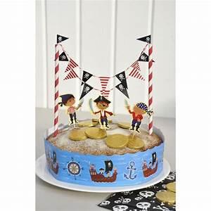 Deco Anniversaire Pirate : d co de g teau pirates modern confetti ~ Melissatoandfro.com Idées de Décoration