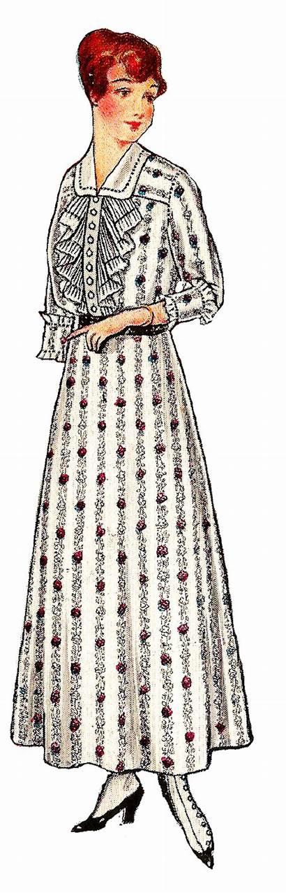 1917 Hat Illustration Clothes Downloads Clip Antique