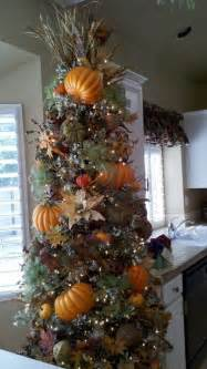 thanksgiving tree stolen from fb friend decorating pinterest pumpkins ornaments and