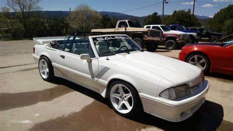 1993 Ford Mustang Lx Convertible Saleen Clone For Sale