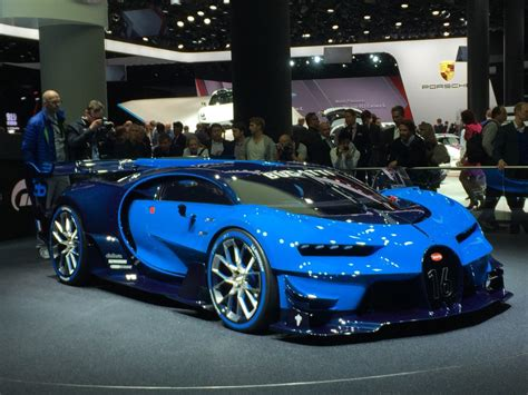 The cars were known for their design beauty and for their many race victories. Image: Bugatti Vision Gran Turismo concept, 2015 Frankfurt Auto Show, size: 1024 x 768, type ...
