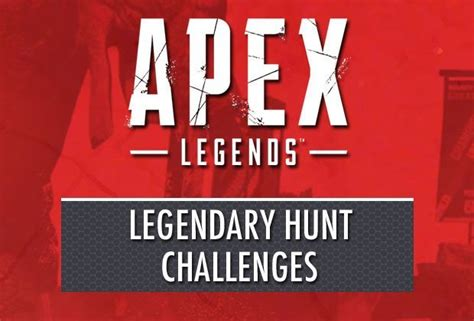 Apex Legends Update Legendary Hunt Challenges And Rewards