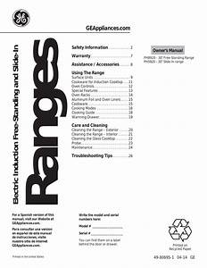 Ge Quiet Power 1 Owners Manual