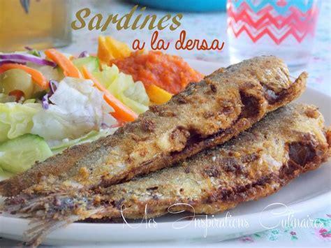 sardine cuisine sardines bel dersa sardines frites a l algérienne le