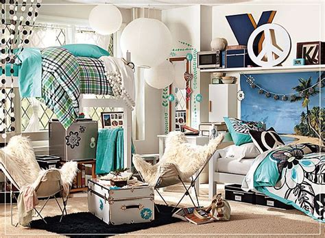 Pottery Barn Dorm Cool Room Decorations Ideas