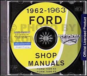 1963 Ford Galaxie Wiring Diagram Manual Reprint