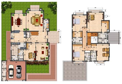 house with 4 bedrooms prime villas floor plans 4 semi detached 5 bedrooms