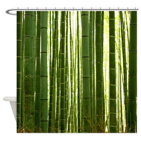 bamboo shower curtain bamboo grove 2 shower curtain by trenditextures