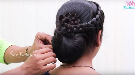easy hair style  long hair ladies hair style hair