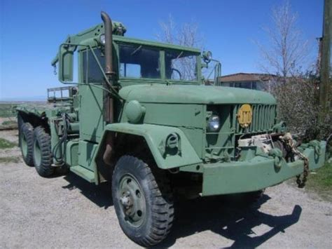 1953 Reo Motors Inc, 2 1/2 Ton Cargo Truck, M35 With Winch
