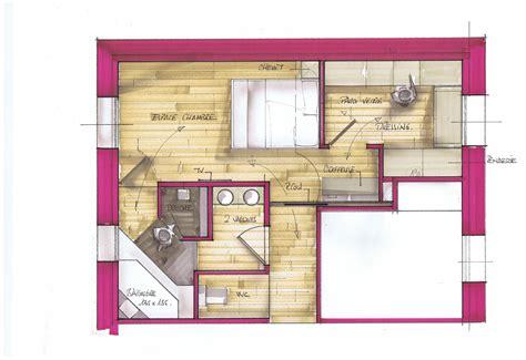 plan de dressing chambre chambre parentale recherche home home