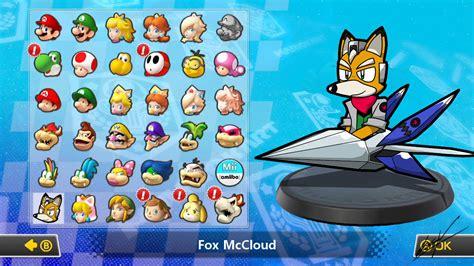 fox mccloud  tanooki mario mario kart  concepts