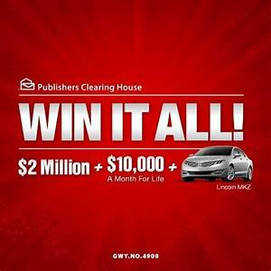 53 best images about publishers clearing house on ...