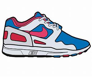 Nike Sneakers Clipart - ClipArt Best