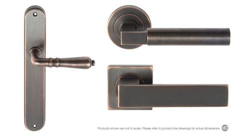 bronze door handles special finishes