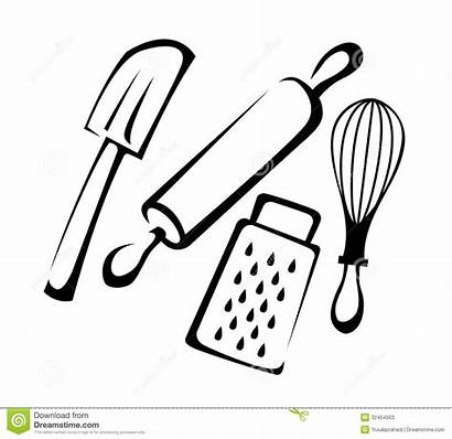 Utensils Clipart Pastry Clip Cooking Baking Clipground