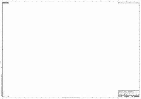 size blank drawing sheet