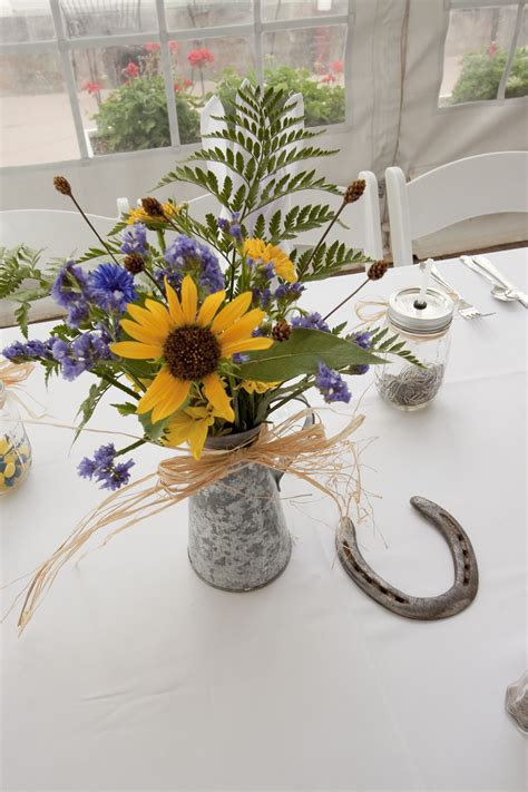 country western wedding arrangements  country western