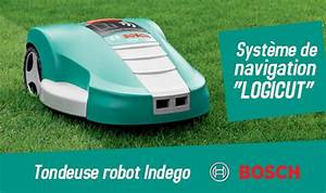Robot Tondeuse Sans Fil Périphérique : focus produit robot tondeuse bosch indego le blog debonix ~ Dailycaller-alerts.com Idées de Décoration