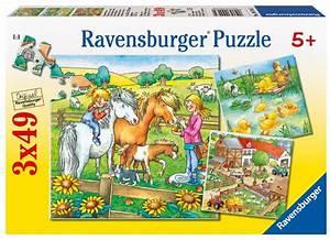 Puzzle Online Kaufen : bauernhoftiere 3x49 teile puzzle set ravensburger puzzle online kaufen ~ Watch28wear.com Haus und Dekorationen