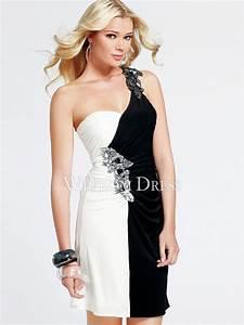 robes chic noir et blanc all pictures top With robe etam noire