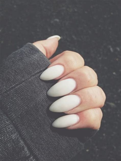 oval white nails pictures   images  facebook