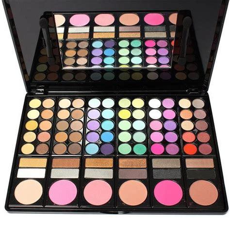 photo de maquillage 78 couleurs de pro palette de maquillage ombre 224 paupi 232 res poudre pinceau cosm 233 tique kit bo 238 te