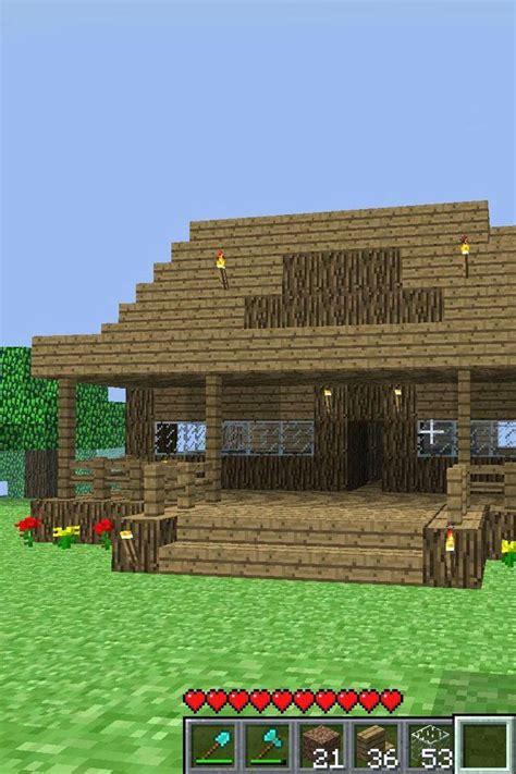 easy minecraft houses ideas  pinterest