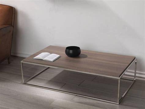 short rectangular coffee table lamina