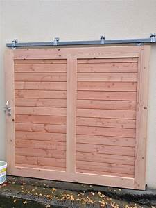 Portes de garage msm menuiseries herbignac for Porte de garage bois coulissante
