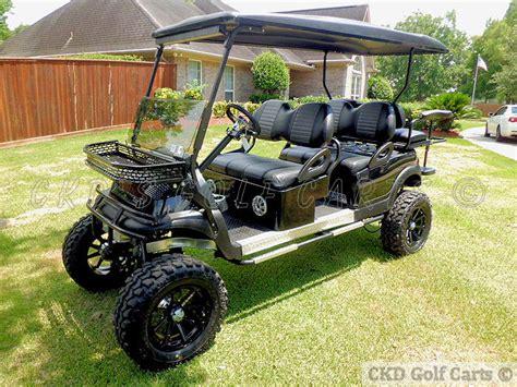 Monster Lifted Custom Golf Carts
