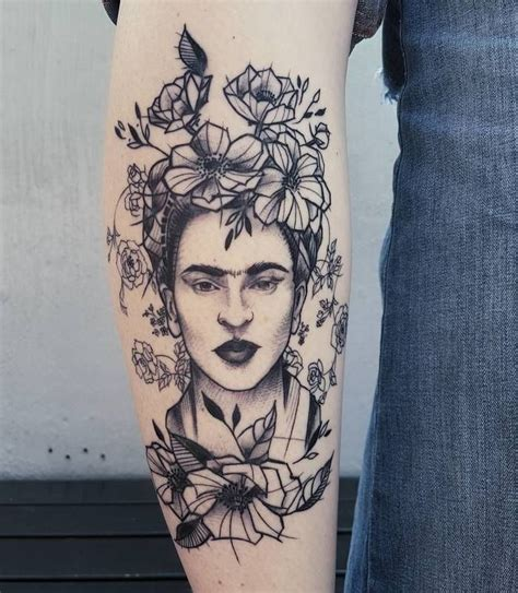 30 Creative Frida Kahlo Tattoo Designs Tattoos