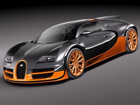 Owning a bugatti comes at a high price beyond an oil change. Bugatti Veyron Super Sport 2012 3D Model 3D model MAX OBJ 3DS FBX C4D LWO