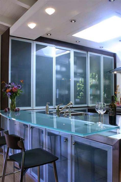 modernos  elegantes muebles de cocina  vidrio cocina