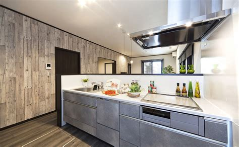 キッチン|施工事例|ビーバーハウスの新築一戸建て施工ギャラリー