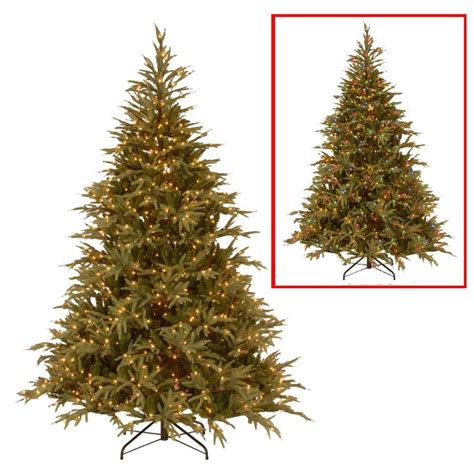11ft pre lit artificial christmas national tree company 6 ft frasier grande artificial tree with dual color led lights