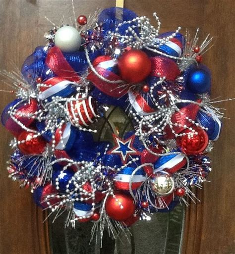 4th of july wreath deco mesh wreath 4th of july pinterest red white blue deco mesh and deco