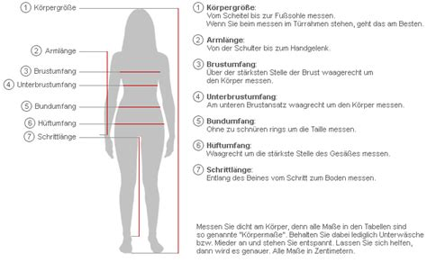size guide female