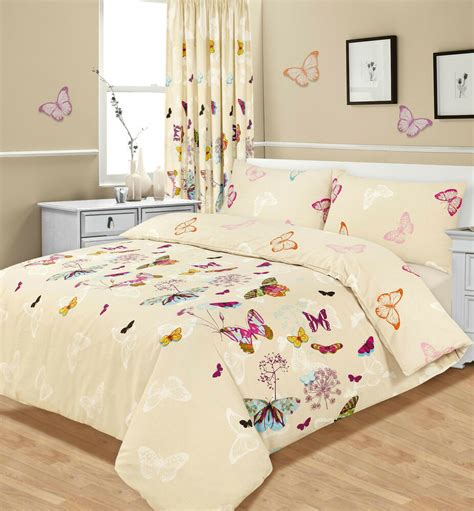 quilt and curtain sets butterfly duvet cover with pillowcase quilt cover set all