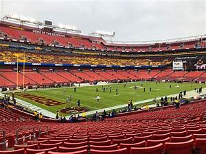 Fedex Field Section 127 Row 28 Seat 18