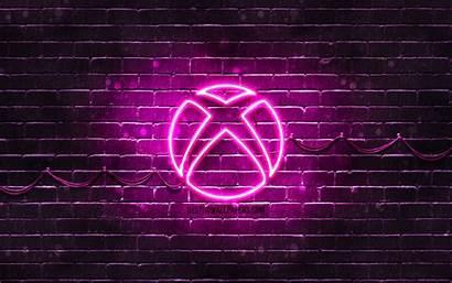 Xbox Purple 4k Neon Wallpapers Brickwall Brands