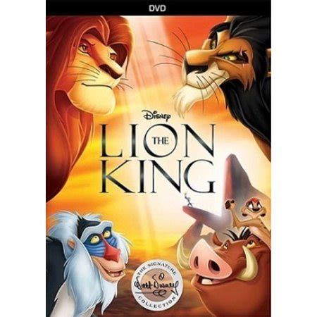 lion king signature collection dvd walmartcom