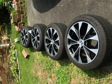 2013 Civic Si Stock Rims + Tires+tpms
